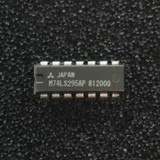 (PKG of 10) M74LS295AP 4-Bit Shift Register w/ 3-State Output, PDIP-14, Mitsubishi