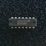 (PKG of 10) SN74S02N Quad 2-Input Positive-NOR Gates, PDIP-14, TI