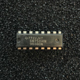 SN75114N Dual Differential Line Driver, PDIP-16, Texas Instruments