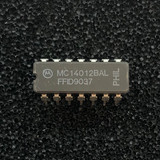 MC14012BAL Dual 4-Input NAND Logic Gate, CERAMIC, CD4012, CDIP-14, Motorola