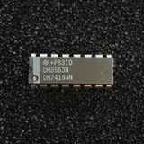 (PKG of 5) DM74193N / DM8563N Synchronous Up/Down 4-Bit Binary Counter, PDIP-16, National