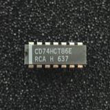 (PKG of 10) CD74HCT86E Quad 2-Input XOR Gate, PDIP-14, RCA