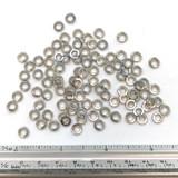 "(PKG of 100) #6 Split Ring Lock Washer, 18-8 Stainless Steel, 0.25""OD x 0.148""ID"