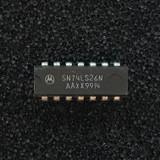 (PKG of 5) SN74LS26N Quad 2-Input NAND Buffer / Gate, PDIP-14, Motorola
