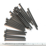 "(PKG of 25) 6-32 x 2-1/4"" Machine Screw, Phillips Pan Head, Stainless Steel"