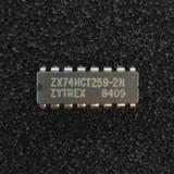 (PKG of 10) ZX74HCT259-2N 8-Bit Addressable Latch, 74HCT259, PDIP-16, Zytrex