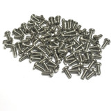 "(PKG of 100) 8-32 x 3/8"" Machine Screw, Phillips Pan Head, 18-8 Stainless Steel"