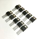 (PKG of 10) TIP116 PNP Darlington Transistor, -2A, -80V, National, TO-220