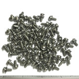 "(PKG of 100) 6-32 x 3/8"" SEMS Screw, Square Cone Washer, Phillips Pan, Stainless"