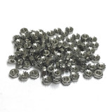 "(PKG of 100) 4-40 Keps Nut, K-Lock, 18-8 Stainless Steel, 1/4"" Flats"