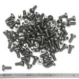 "(PKG of 100) 6-32 x 5/16"" Machine Screw, Slotted Pan Head, 18-8 Stainless Steel"