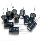 (PKG of 10) 1000uF 50V Electrolytic Capacitor, Radial 85ºC Nic Comp. NRSA Series