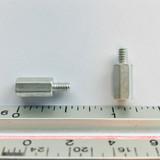 """(PKG of 20) Standoff, 3/16"""" Hex, M-F, 4-40, 3/8"""" Length, Aluminum, 4503-440-AL-0"""