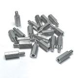 """(PKG of 20) Standoff, 3/16"""" Hex, M-F, 4-40, 7/16"""" Length, Aluminum"""