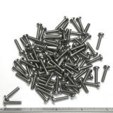 "(PKG of 100) 6-32 x 5/8"" Machine Screw, Phillips Pan Head, 18-8 Stainless Steel"