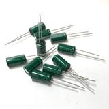 (PKG of 10) 330uF 25V Electrolytic Capacitor, Radial 105ºC, United Chemi-Con KZE