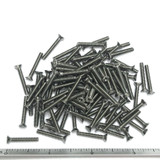 "(PKG of 100) 4-40 x 3/4"" Machine Screw, Phillips Flat Head, 18-8 Stainless Steel"