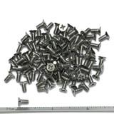"(PKG of 100) 6-32 x 5/16"" Machine Screw, Phillips Flat 100 Head, 18-8 Stainless Steel"