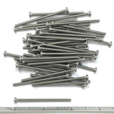 "(PKG of 50) 4-40 x 2"" Machine Screw, Phillips Pan Head, 18-8 Stainless Steel"