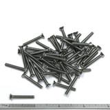 "(PKG of 50) 6-32 x 1"" Machine Screw, Phillips Flat Head, 18-8 Stainless Steel"