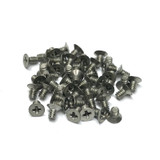 "(PKG of 50) 4-40 x 3/16"" Machine Screw, Phillips Flat 100, Stainless, MS24693-C1"