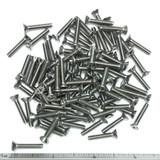 "(PKG of 100) 6-32 x 3/4"" Machine Screw, Phillips Flat Head, 18-8 Stainless Steel"