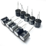 (PKG of 10) 560uF 35V Electrolytic Capacitor, Radial, 105ºC Panasonic HFQ Series