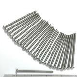 "(PKG of 25) 6-32 x 2-1/2"" Machine Screw, Phillips Pan Head, 18-8 Stainless Steel"