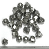 (PKG of 25) 10-32 Acorn Hex Cap Nut, 18-8 Stainless Steel, Standard Height