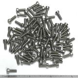 "(PKG of 100) 6-32 x 3/8"" Machine Screw, Phillips Fillister Head, 18-8 Stainless"