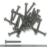 "(PKG of 25) 6-32 x 1-1/8"" Machine Screw, Phillips Pan Head, 18-8 Stainless Steel"