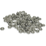 """(PKG of 100) 5-40 Hex Nut, 18-8 Stainless Steel, 5/16"""" Flats x 7/64"""" Thick"""