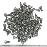 "(PKG of 100) 6-32 x 1/4"" Socket Head Cap Screw, 18-8 Stainless Steel"