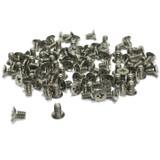 "(PKG of 100) 6-32 x 1/4"" Machine Screw, Phillips Flat Undercut, 18-8 Stainless Steel"