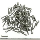 """(PKG of 100) 4-40 x 5/8"""" Socket Head Cap Screw, 18-8 Stainless Steel"""