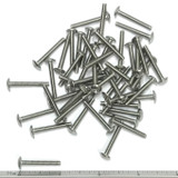 "(PKG of 50) 6-32 x 1"" Machine Screw, Phillips Truss Head, 18-8 Stainless Steel"
