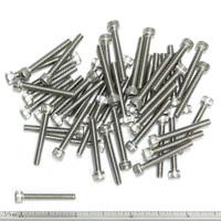 """(PKG of 50) 6-32 x 1"""" Socket Head Cap Screw, 18-8 Stainless Steel"""