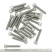 """(PKG of 25) 8-32 x 1"""" Socket Head Cap Screw, 18-8 Stainless Steel"""