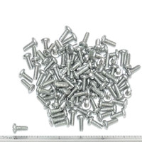 """(PKG of 100) 4-40 x 5/16"""" Thread Forming Screw, Taptite Style, Phil Pan Steel Zn"""