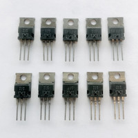 (PKG of 10) TIP117 PNP Darlington Transistor, 2A, 100V, TEXET, TO-220