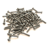 "(PKG of 100) 2-56 x 7/16"" Machine Screw, Phillips Pan Head, 18-8 Stainless Steel"