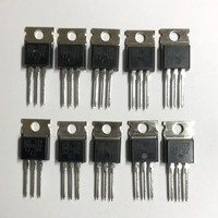 (PKG of 10) IRF720 N-Channel Power MOSFET, 400V, 3.3A, IR, TO-220