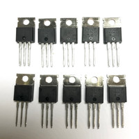 (PKG of 10) IRFZ44 N-Channel Power MOSFET, 60V, 50A, IR, TO-220