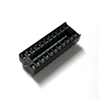 "(PKG of 10) 22 Pin DIP IC Socket, 0.1"" Pitch, 0.3"" Wide, Generic"