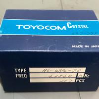 (PKG of 10) 3.6864 MHz Crystal, Toyocom, HC-49/U-70 Package