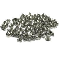 "(PKG of 100) 6-32 x 3/16"" Machine Screw, Phillips Truss Head, 18-8 Stainless Steel"