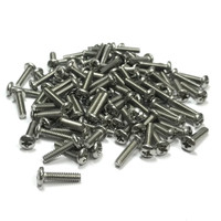 "(PKG of 100) 6-32 x 9/16"" Machine Screw, Phillips Pan Head, 18-8 Stainless Steel"