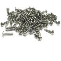 "(PKG of 100) 6-32 x 5/8"" Machine Screw, Phillips Truss Head, 18-8 Stainless Steel"