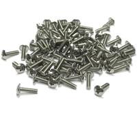"(PKG of 100) 6-32 x 1/2"" Machine Screw, Phillips Truss Head, 18-8 Stainless Steel"