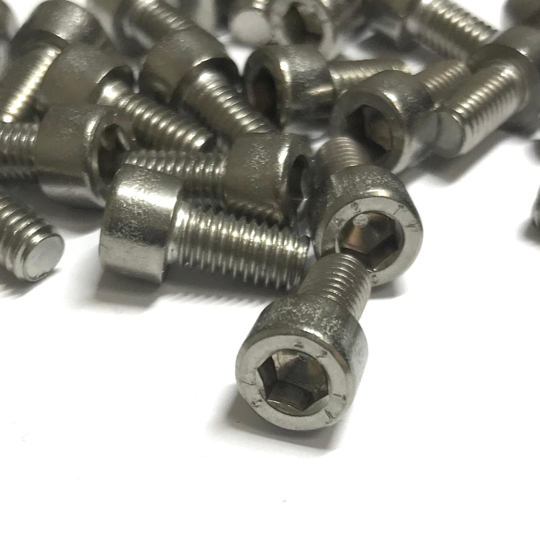 M6-1.0 x 12mm Stainless Steel Socket Head Caps Screws Metric DIN 912 A2 Coarse